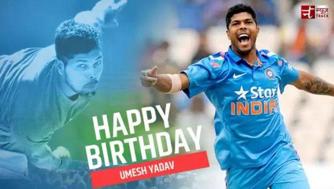 Happy birthday to you Umesh Yadav( Satabdi Express) aap Jiyo Hazaro Saal