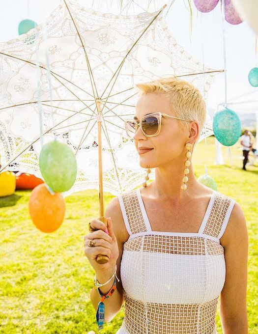 The Queen of Hair  Happy Bday Katy Perry
