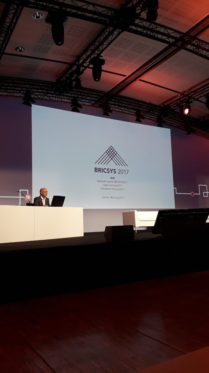 BIC 2017 Bricsys International Conference main event today #bricsys2017 the official hash tag https://t.co/Juas9n2s0I