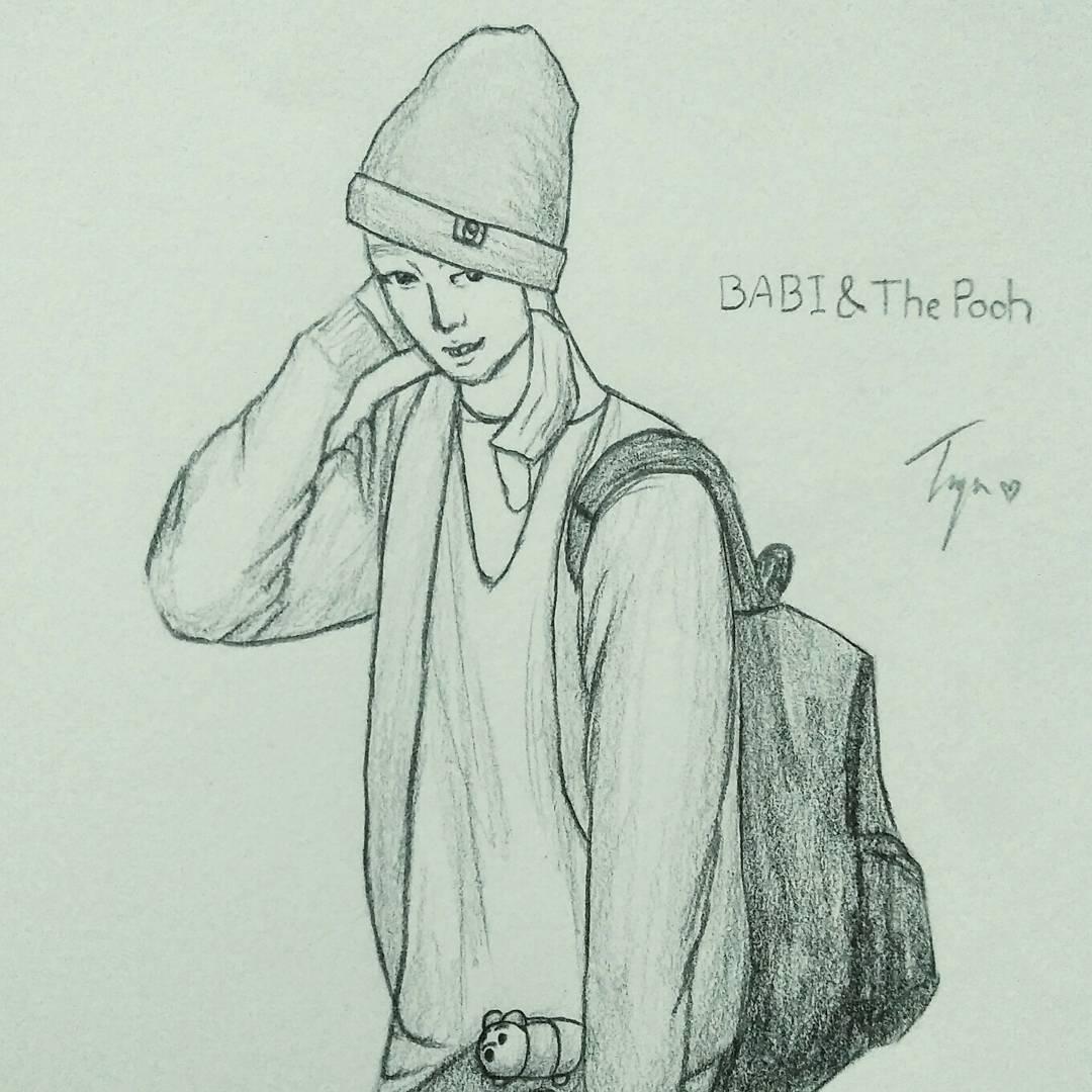 BABI & The Pooh #BABI #iKON #fanartiKON #바비 #아이콘<br>http://pic.twitter.com/nW2I9WJi1V