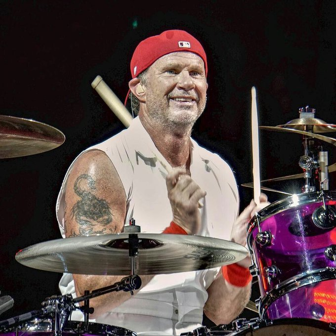 Happy Birthday Chad Smith  Red Hot Chilli Peppers - Aeroplane