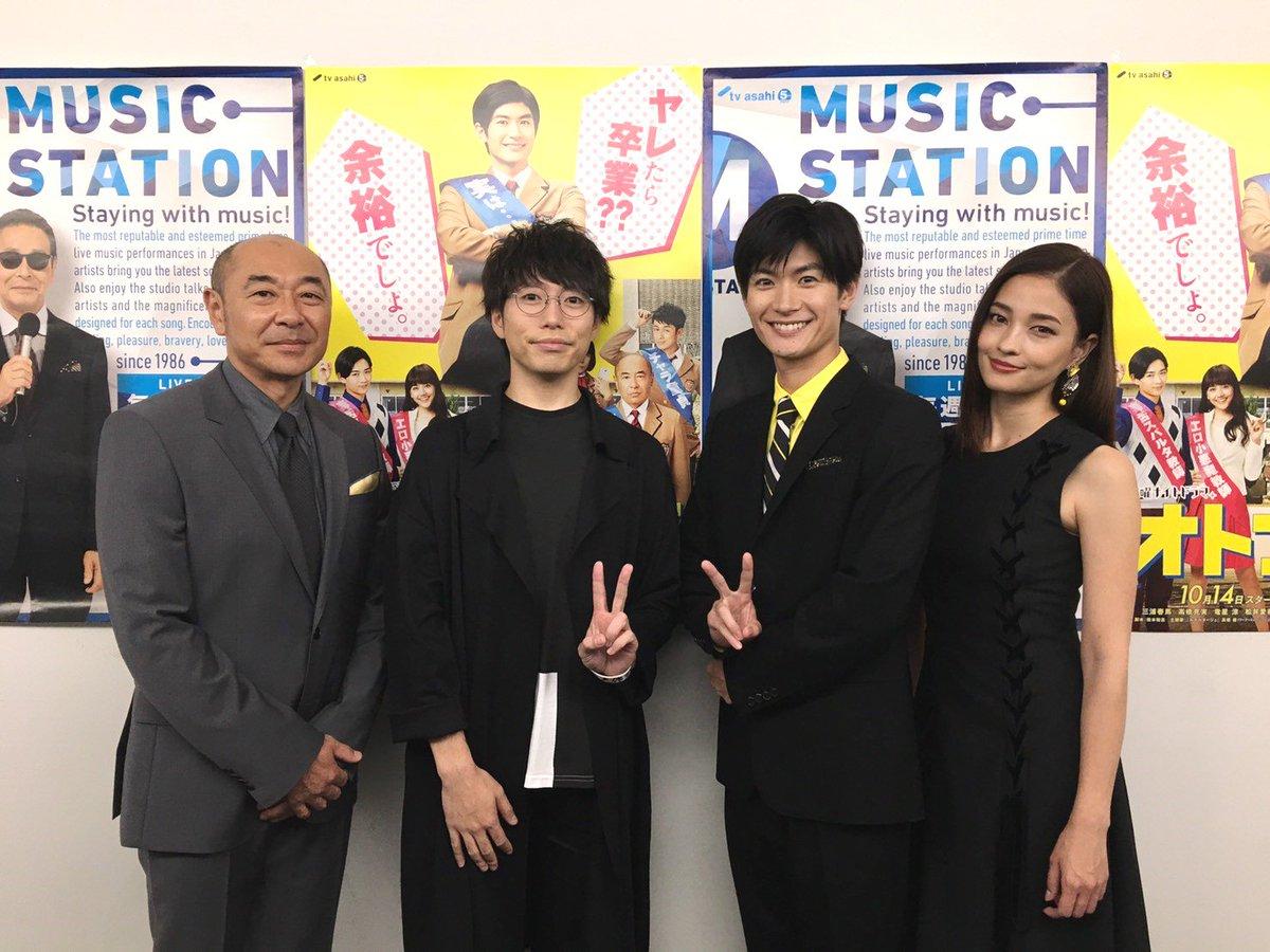 10月14日よりスタート‼️土曜ナイトドラマ「オトナ高校」 今夜のMステでは主題歌を歌う高橋優さんに…