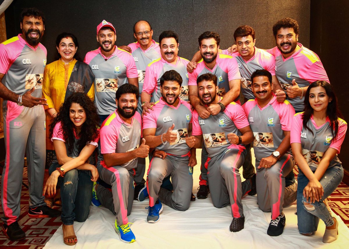 Mersal Posters On The Jersey Of Ccl Keralastrikers Nice Promotions By Gumediacompany In Kerala Thenandalfilm Twitter Fyyvsm6gn7