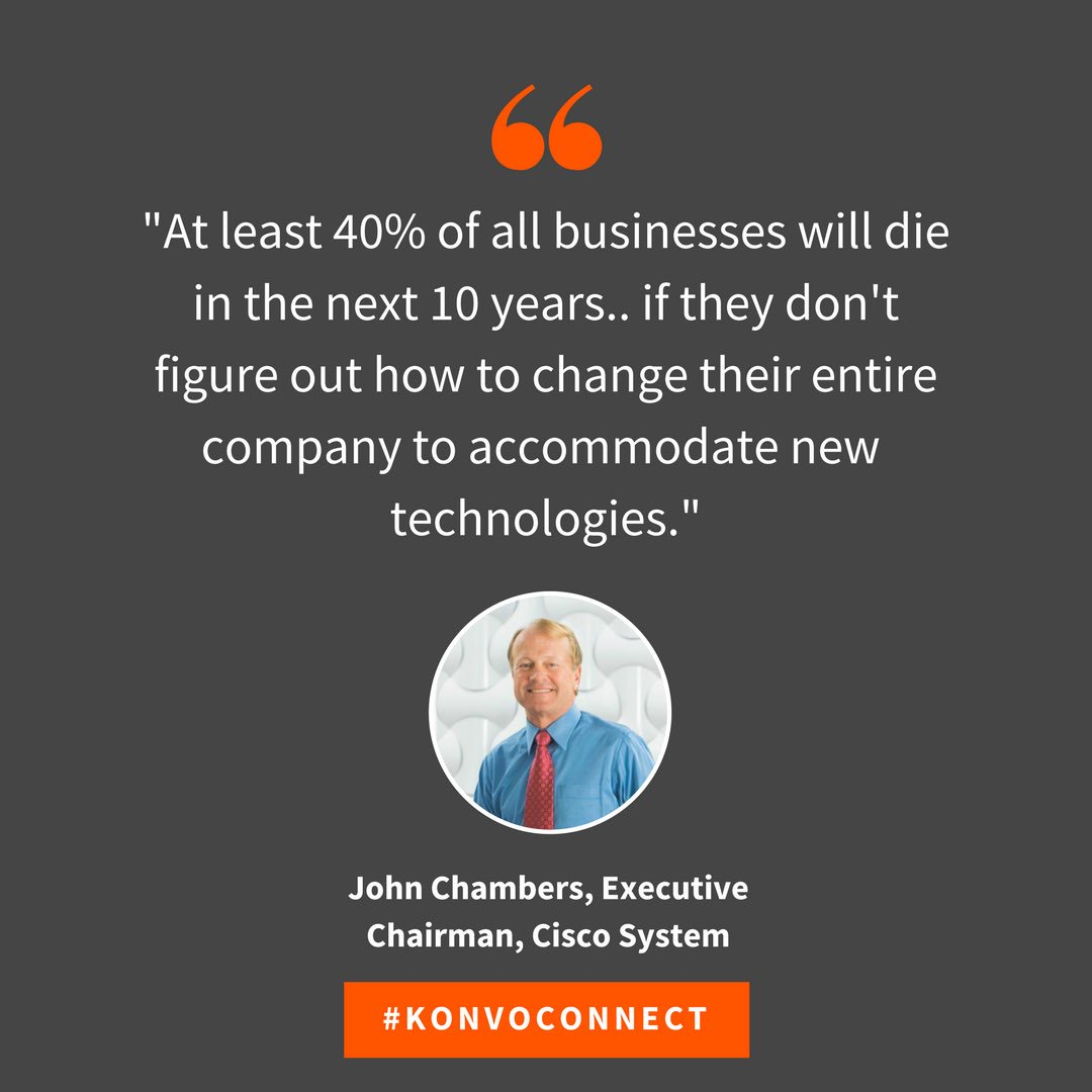 """""""#Accommodate new #technologies""""  #digitalize #business #KonvoConnect #Quote #Saying  Join tonight at 8PM for more! <br>http://pic.twitter.com/ShZI9PGgWI"""