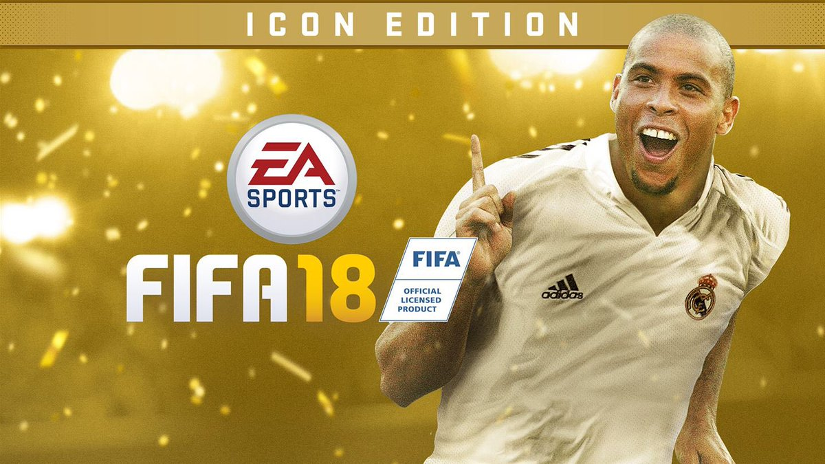 Xbox Crew RT to win an icon edition FIFA 18. I need two winners