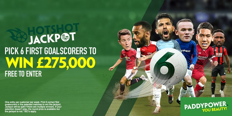 Paddy Power Hotshot Jackpot