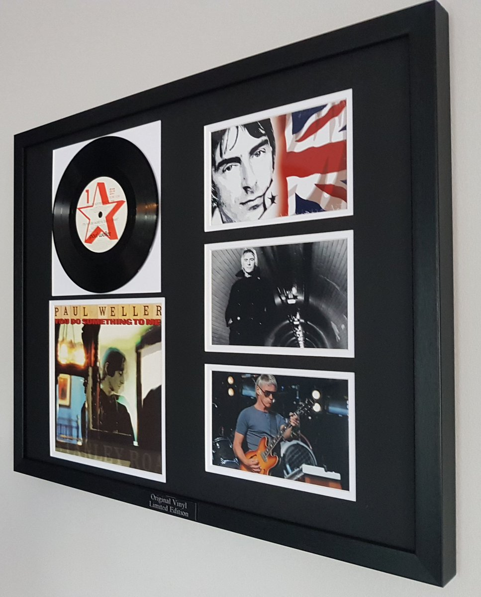 This is V V RARE #PaulWeller #OriginalVinyl You Do Something To Me Luxury Box Framed 53x43 cm A true STATEMENT PIECE  http://www. iamthewalrus.club  &nbsp;  <br>http://pic.twitter.com/AjNplua56J