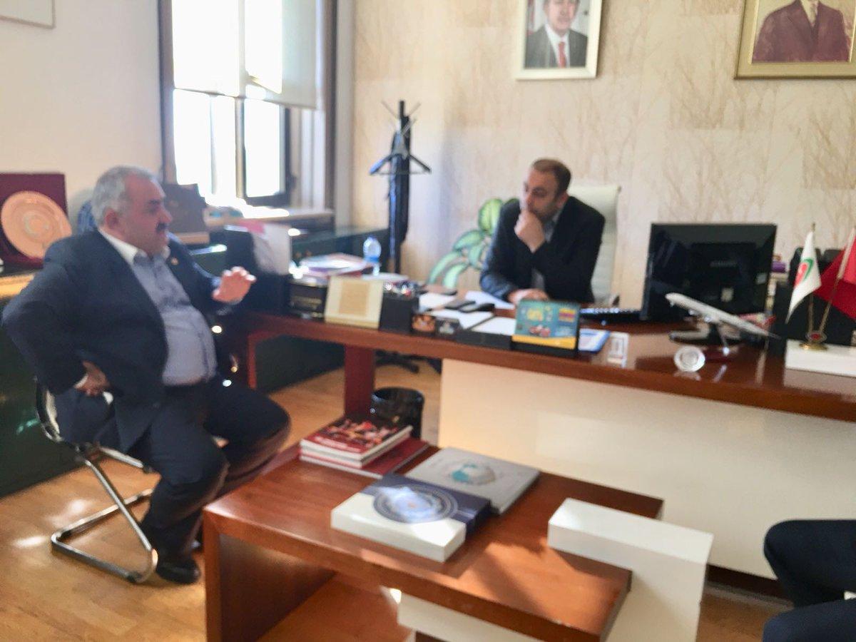 İstanbul'da Trt Haber Müdürü Emin Gökçegözoğlu'nu ziyaret ettik. https...