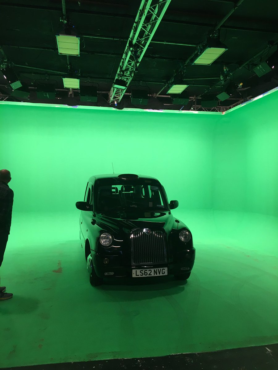 London Corporate Cabs On Twitter Studio Day GreenScreen Taxi - Classic car studio tv show