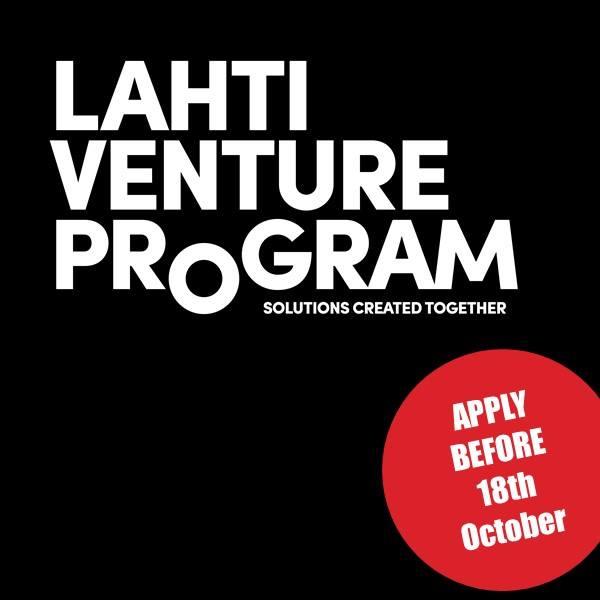 @helsinkiuni students: Apply to Lahti Ventures Program, 5 ECTS, deadline 18th Oct.  https:// lahtiventureprogram.com / &nbsp;   #impacthelsinki @Helsinkithinkco<br>http://pic.twitter.com/2gnmce2pHU