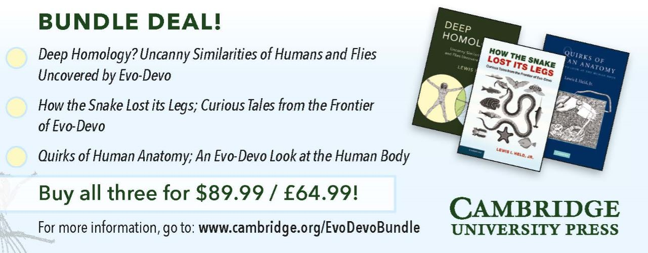Cup Life Sciences On Twitter The Evo Devo Trilogy Bundle Is Now