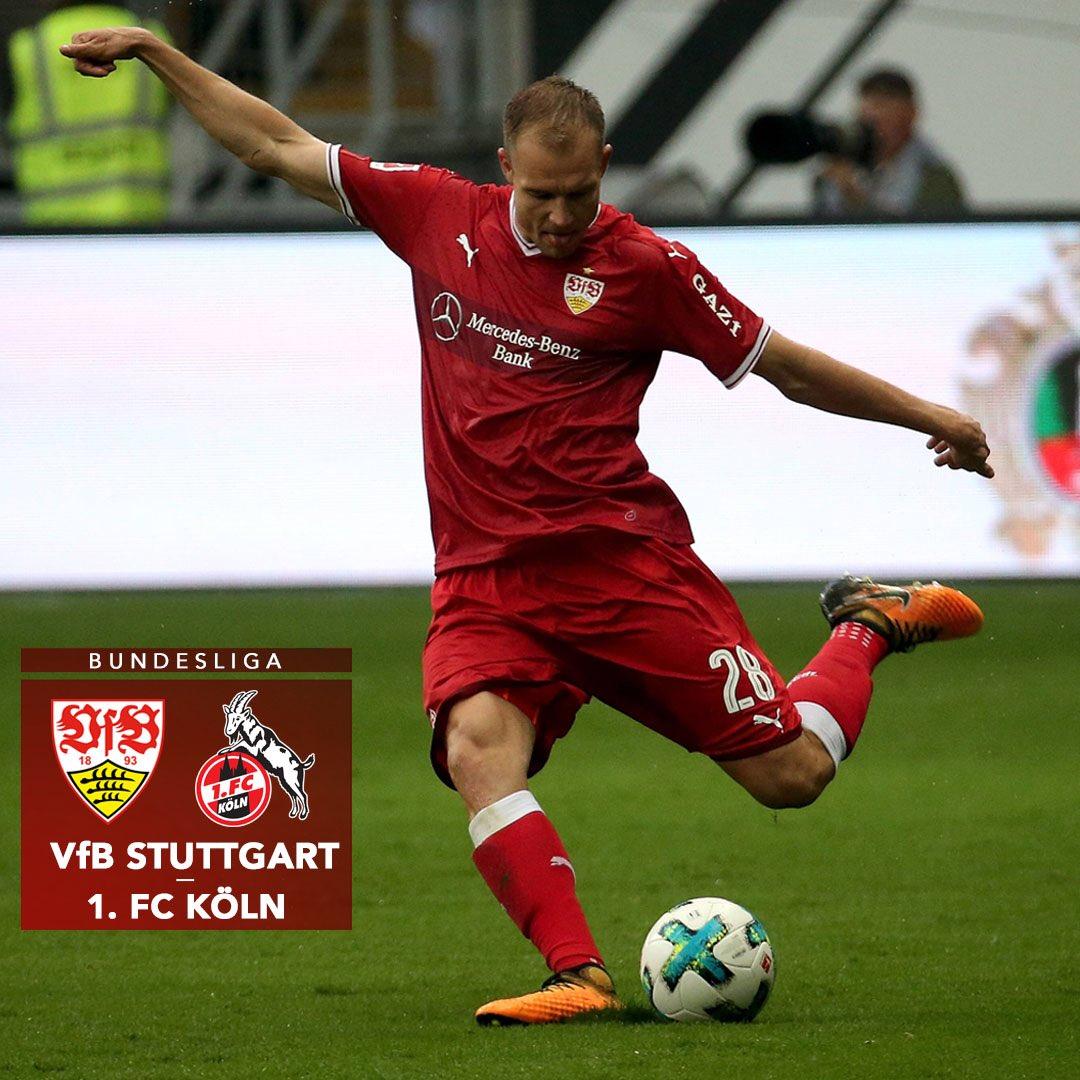 Matchday! 👊🏼⚪️🔴 #VfBKOE #Bundesliga https://t.co/9QgsHFJB3X