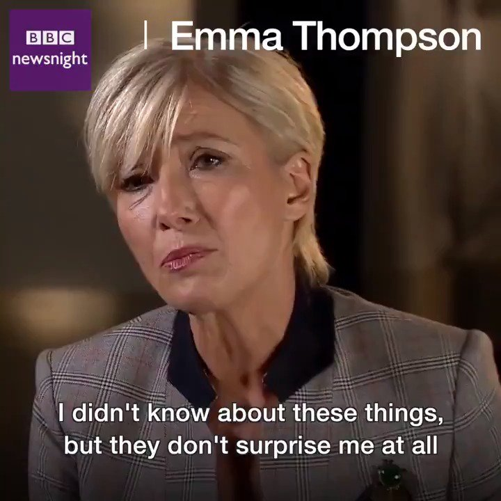 Wow, Emma Thompson speaking truth https://t.co/d8TXeWzYZk
