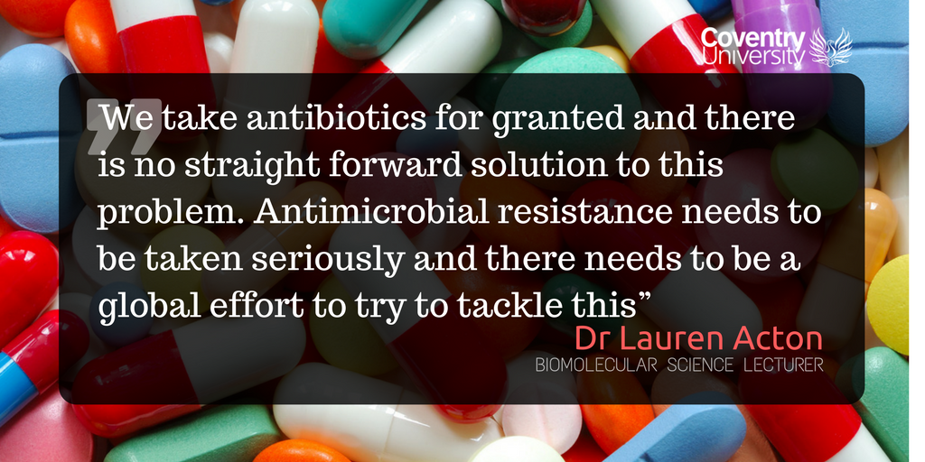 Fears of a &#39;post-antibiotic apocalypse&#39; are in the news today. Do you agree that we take #antibiotics for granted? #Stopsuperbugs #AMR<br>http://pic.twitter.com/q61Zlo9wSY