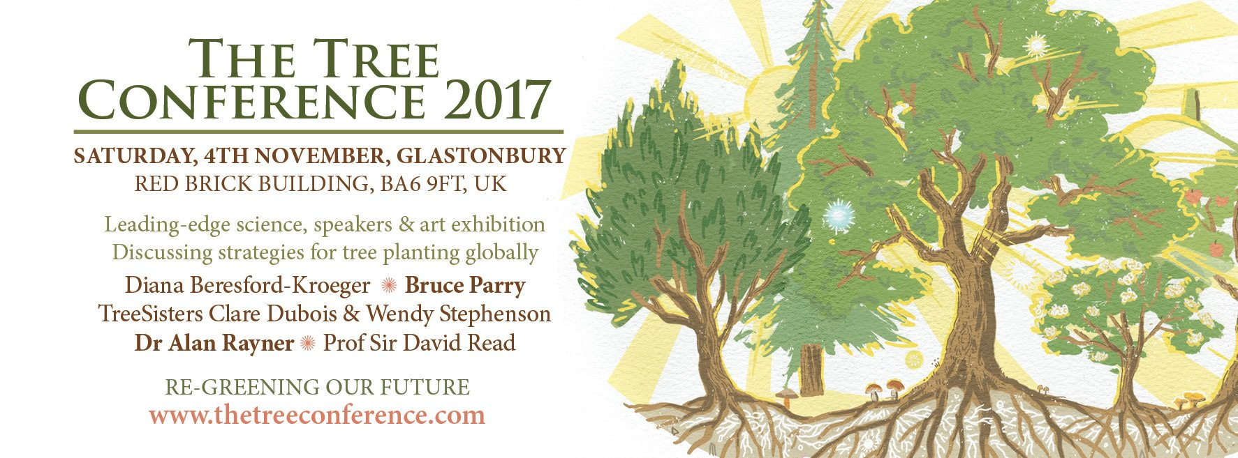 Int Tree Foundation On Twitter Get Your Earlybird Tickets