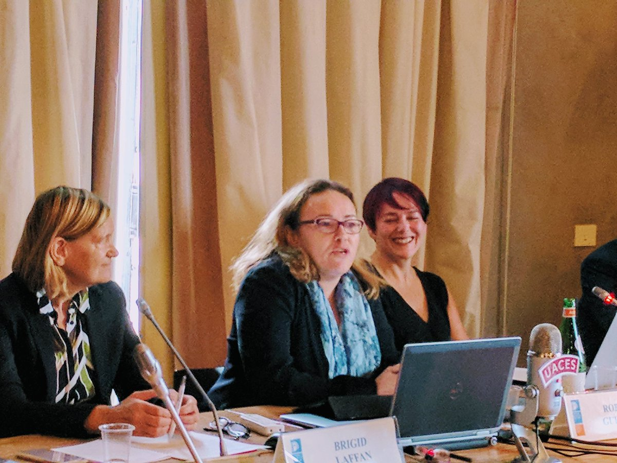 .@RGuerrina on gendered impact of #Brexit, the treatment of women&#39;s voices on Brexit &amp; importance of feminist approaches to #EuropeanStudies <br>http://pic.twitter.com/oXp2aLdY4p