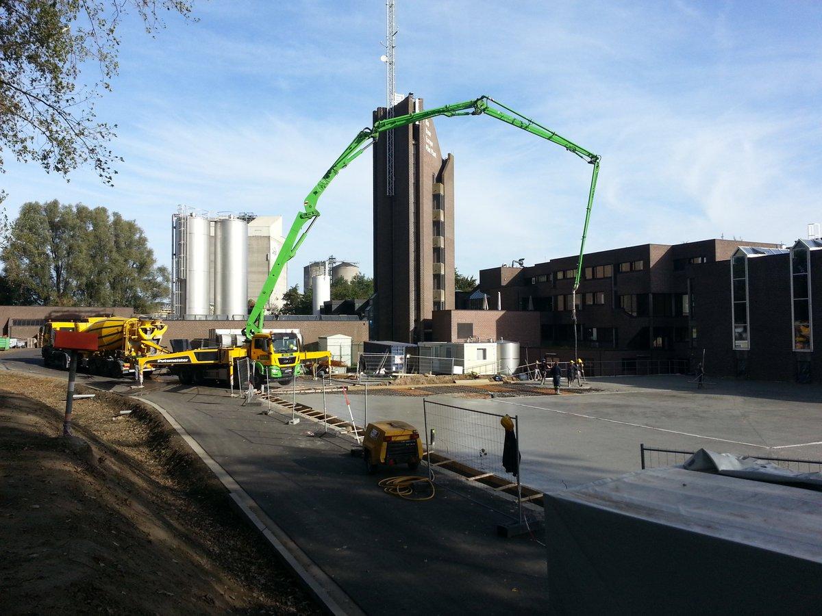 Construction works going on at Bio Base Europe Pilot Plant. Shaping #IMPACT! #EFRO #VLAIO #Oost_Vlaanderen #stad_gent<br>http://pic.twitter.com/plcCM6AoEB