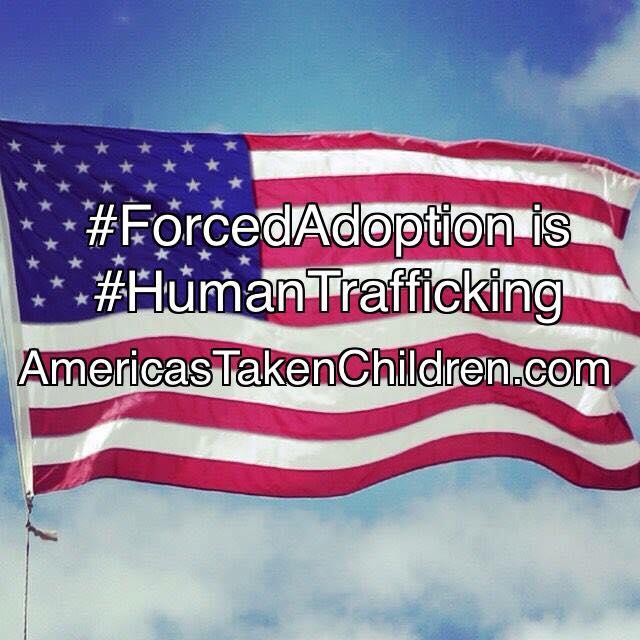 Photo - #ForcedAdoption is #HumanTrafficking #TAKEN #AmericasTakenChildren  http:// AmericasTakenChildren.com  &nbsp;    https://www. facebook.com/AmericasTaken/ photos/a.987383538018807.1073741829.976132759143885/1496255427131613/?type=3&amp;utm_source=dlvr.it&amp;utm_medium=twitter &nbsp; … <br>http://pic.twitter.com/JQjNg0Eb60