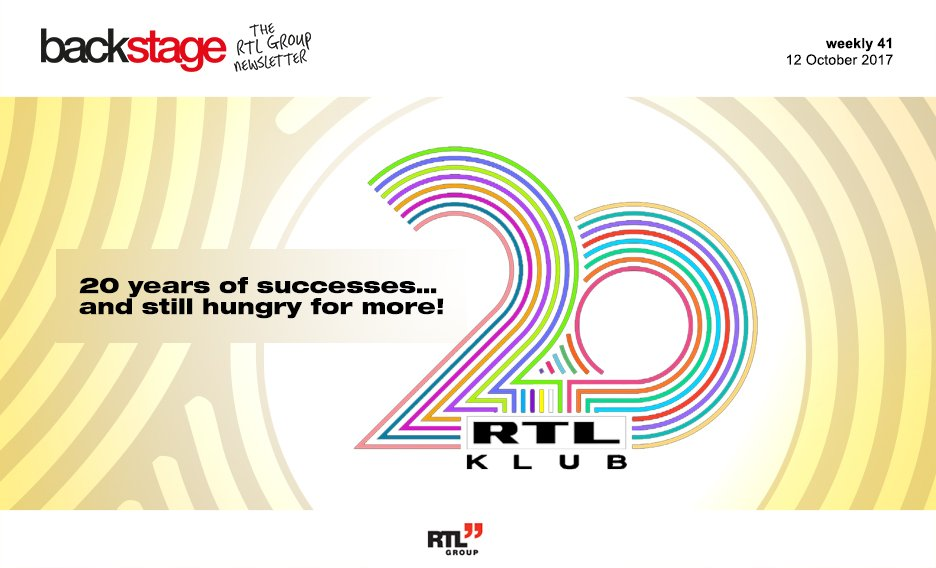 Still hungry for more! #RTLHungary celebrates its 20th anniversary. Le...