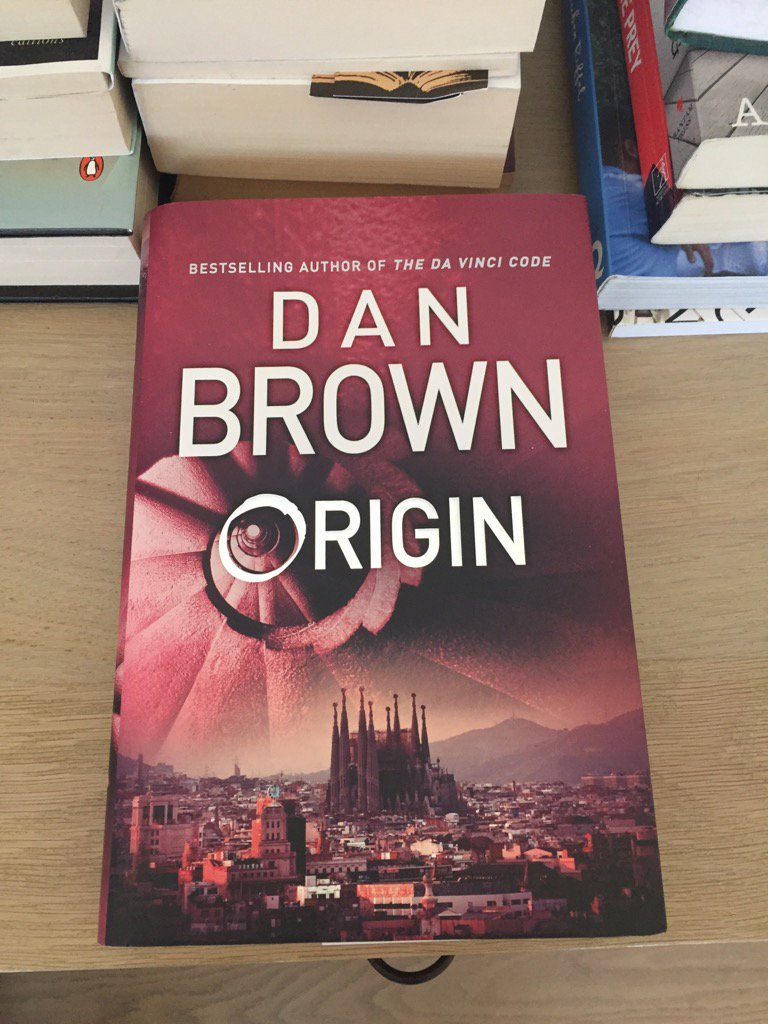 There she is. The new Dan Brown, freshly arrived in SA and ready to be cracked open @whatyoutoldme @PenguinBooksSA https://t.co/bFtaslDSbI