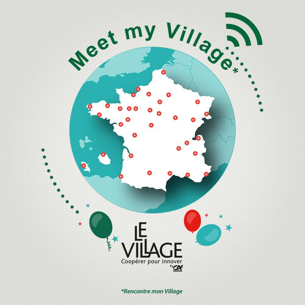 12 Octobre 2017 : Les #villagesbyCA vous ouvrent leurs portes dans le cadre de #MeetmyVillage, 1ère journée nationale des Villages by CA pic.twitter.com/f38PfLWj7C
