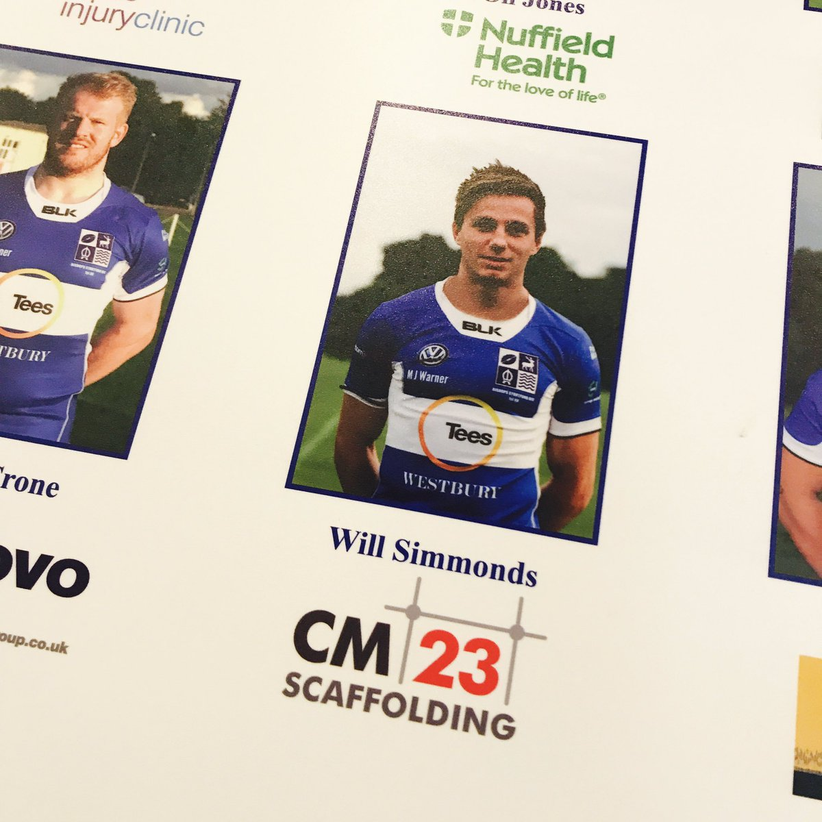 Great to see a familiar face at @BSRUGBY #stortford #design #logo #CM23<br>http://pic.twitter.com/kaNVzIWBov