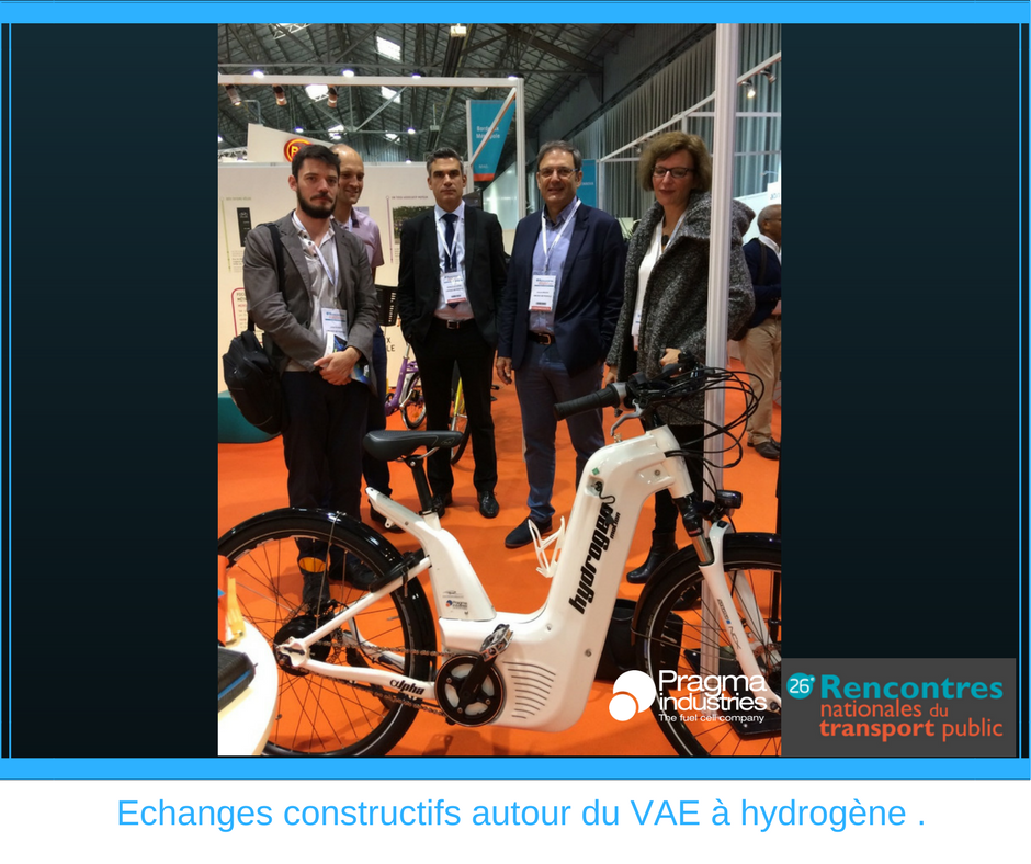 Echanges constructifs autour du VAE Alpha et de l'hydrogène, avec la délégation de l'agglomération de @LimMetropole #H2now