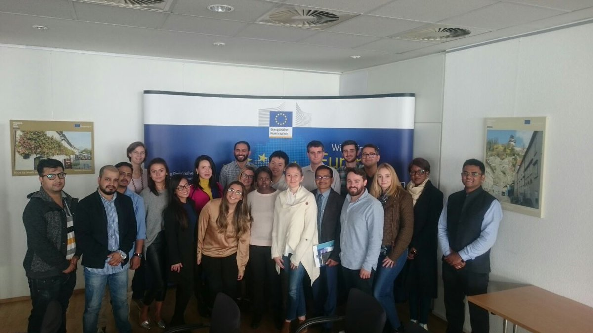 Thanks a lot @EU_Bonn for having our new Master of #EuropeanStudies Fellows at your representation. <br>http://pic.twitter.com/FoV8INL6B0