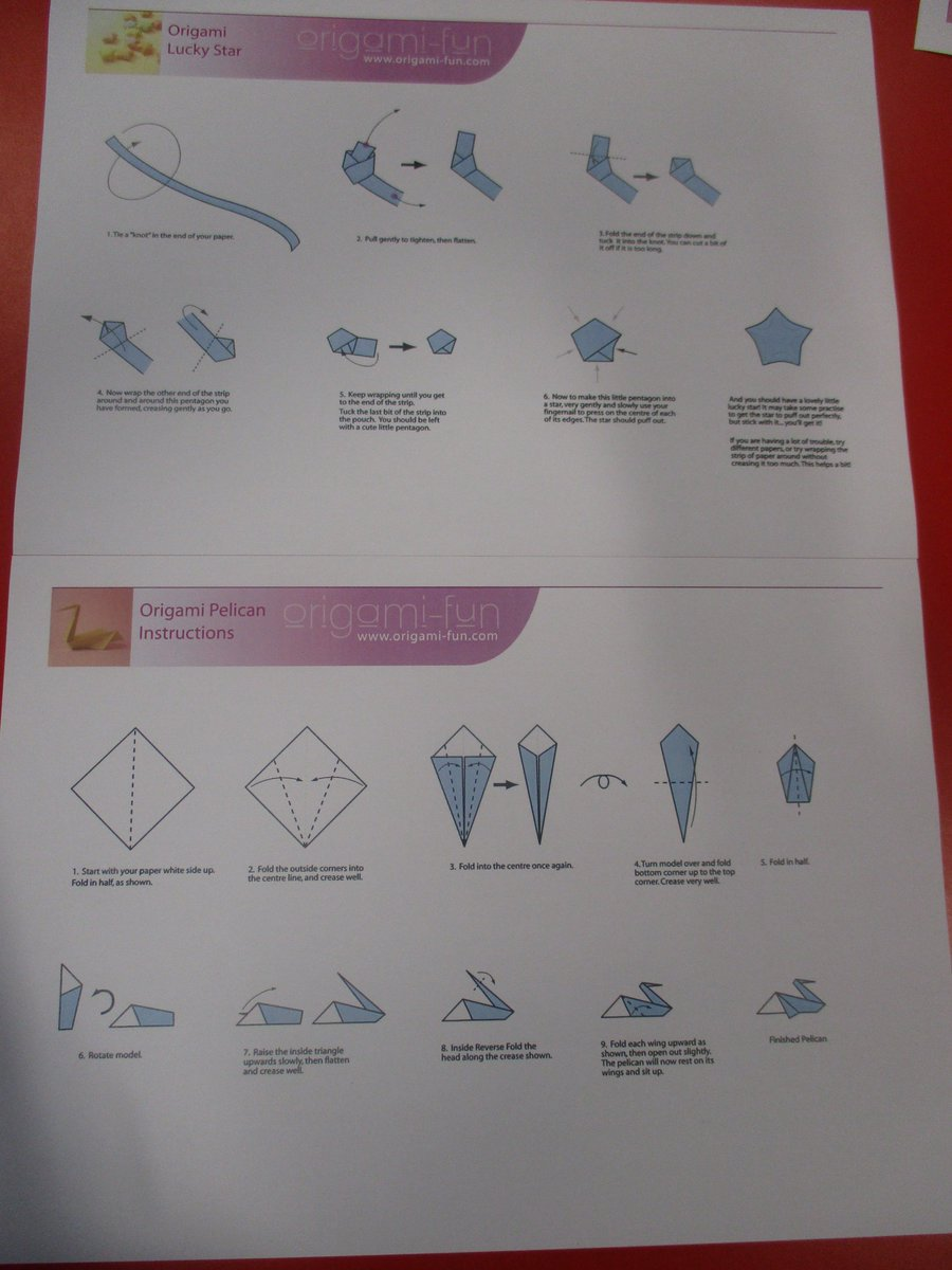 Bridgeview school on twitter our parent group tried some origami follow this link to have a go yourself httporigami funorigami instructionsml picitterkg2wmyp54v jeuxipadfo Image collections