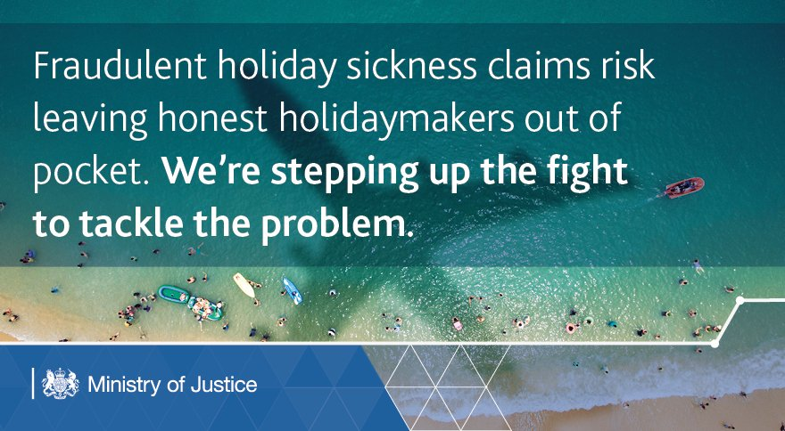 We're stepping up the fight on fake holiday sickness claims - gathering evidence from the travel industry & lawyers: https://t.co/Bg1ssdRxO8 https://t.co/f9RGlgT0GN