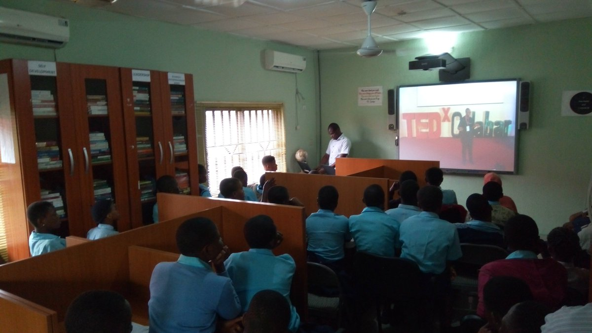 """""""Every minute a child goes blind."""" – Dr. Dennis Nkanga  @TEDxCalabar #TGIIF #MakeVisionCount<br>http://pic.twitter.com/2XLNhWw1YZ"""