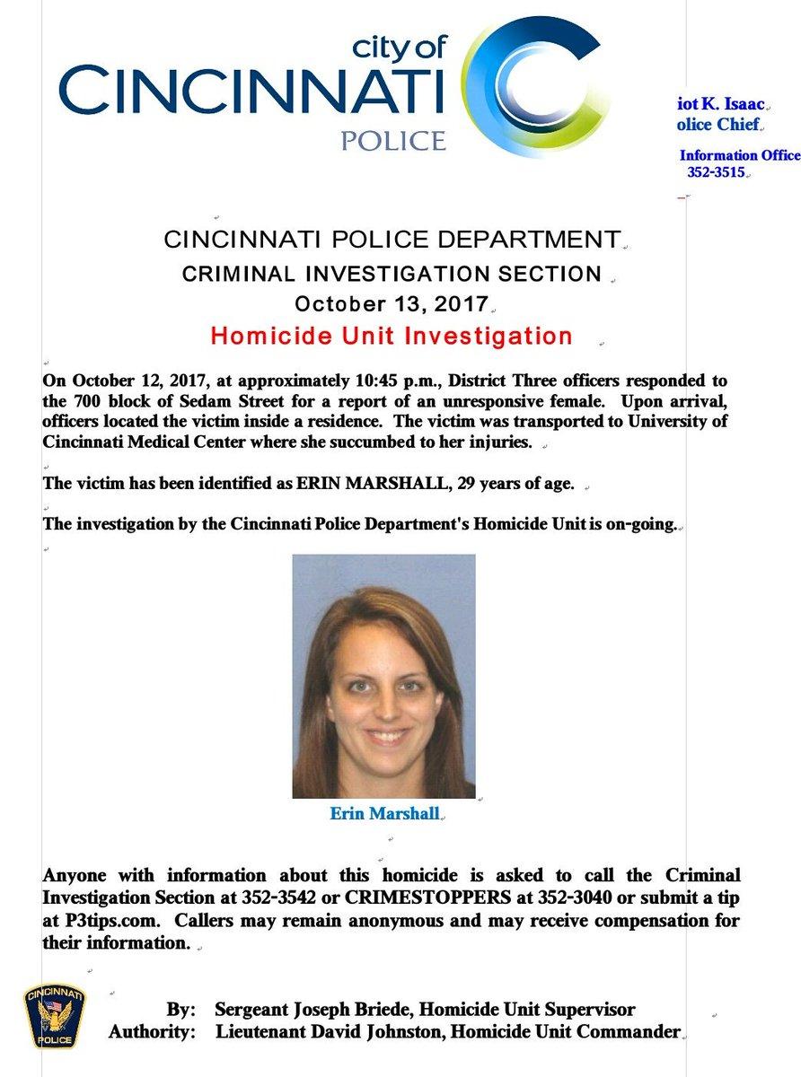 Cincinnati Police Department on Twitter: