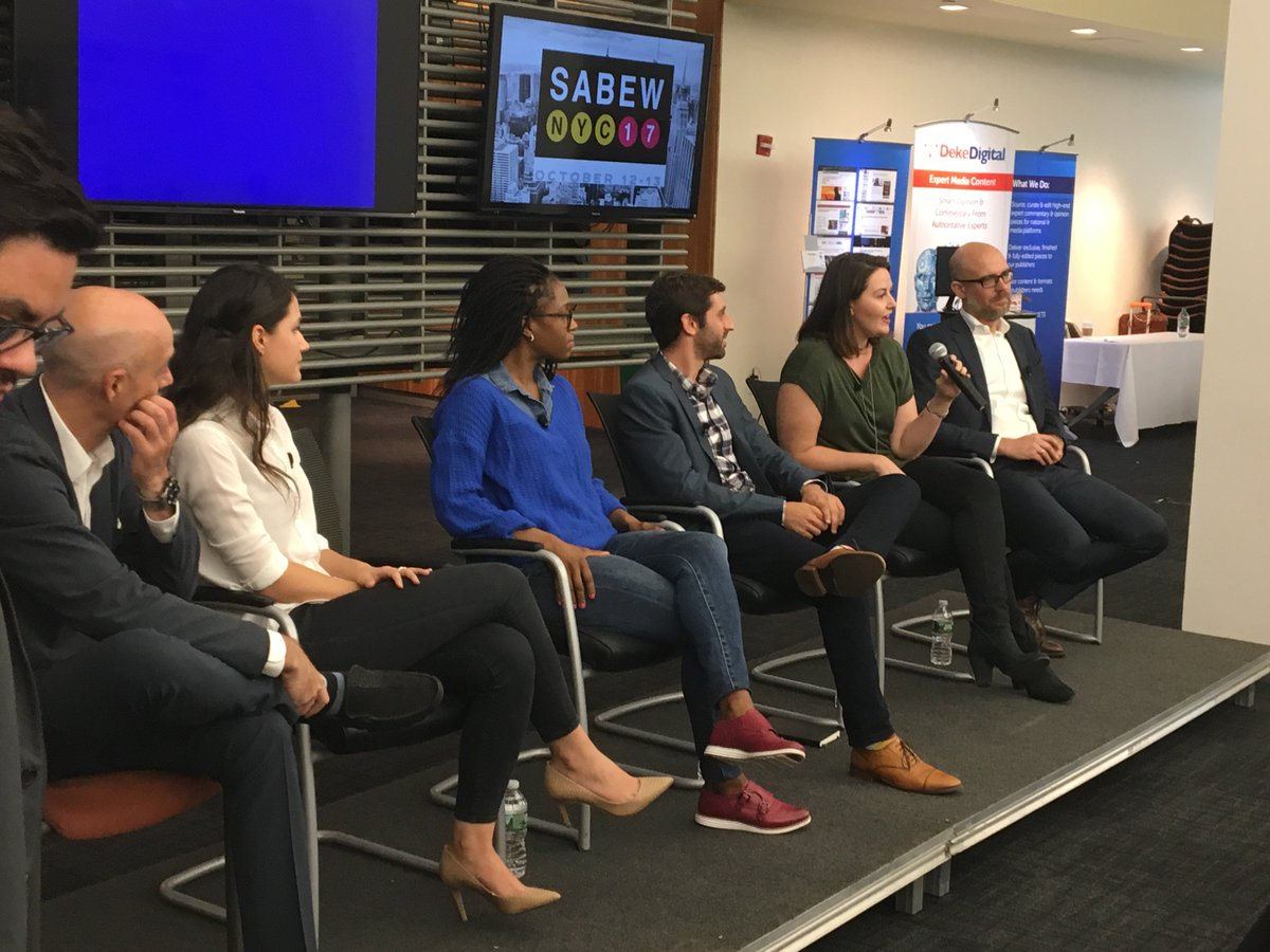 &quot;The take away here is how to democratize data in journalism&quot;@SABEW #SABEWNYC17 &quot;How can we all work together?&quot; -@KelseyArendt @parsely<br>http://pic.twitter.com/TZ9II5dvtY