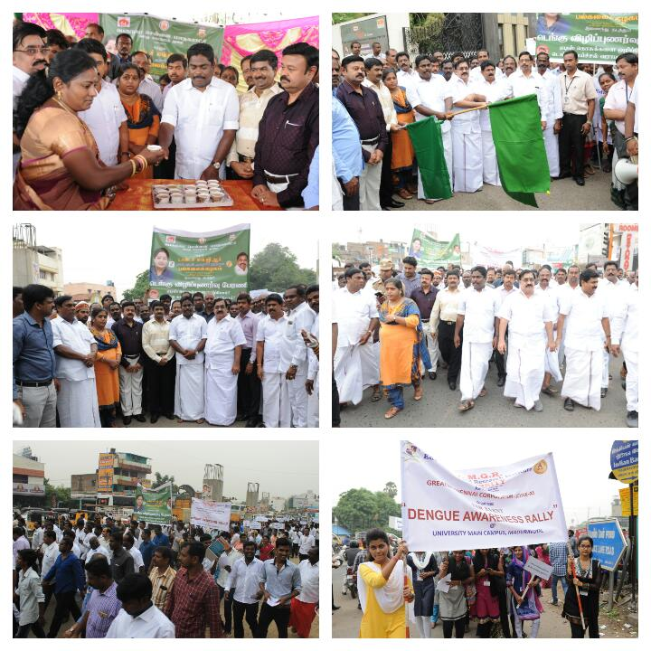 #MGRUnivesity #CSR #mechanicalengineering dept and #Chennai #Corporation,  organized #Dengue #awareness #Rally on 13th October &#39;17. #TNGovt <br>http://pic.twitter.com/vXBSoEvCSF