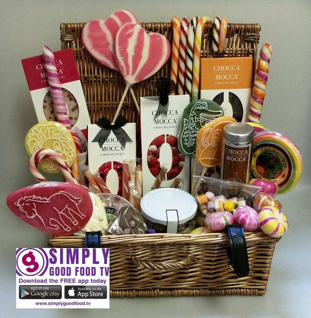 #FreebieFriday #Win this hamper of #sweets &amp; #chocolate for a chance to win RT &amp; follow @sgftv &amp; @Originalcandyco  by 6pm TODAY<br>http://pic.twitter.com/PQzd7cewAu