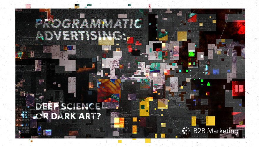 How to make a success of programmatic advertising https://t.co/w8vu5YDXzw https://t.co/SZ9BzGOOm0