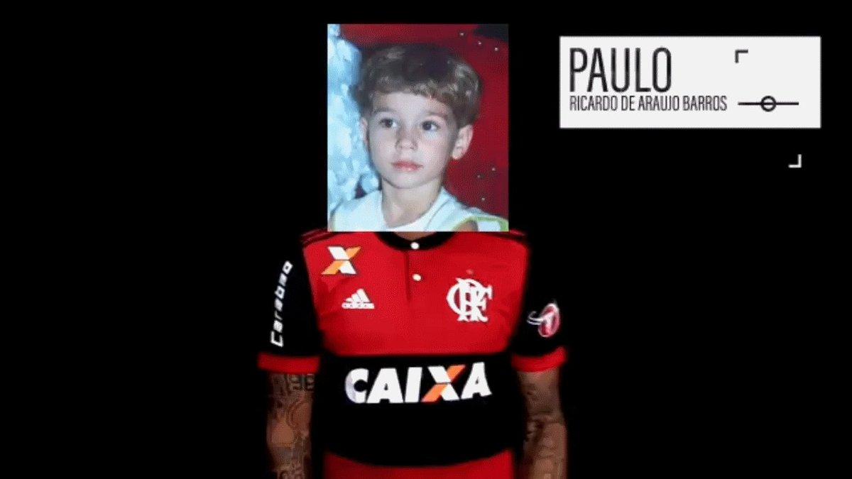 No clássico, Flamengo e Fluminense se uniram em prol de pessoas desapa...
