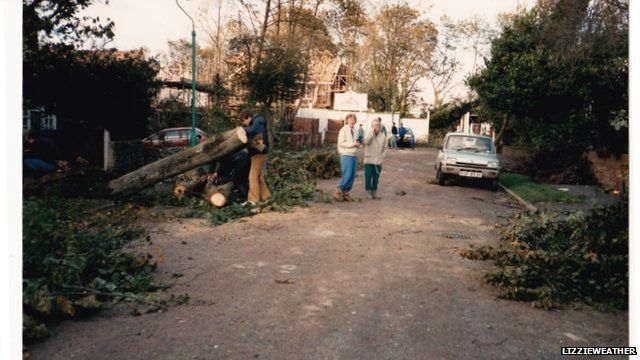 Memories of the Great Storm of October 1987   More here: https://t.co/PQF8Zw5JHk
