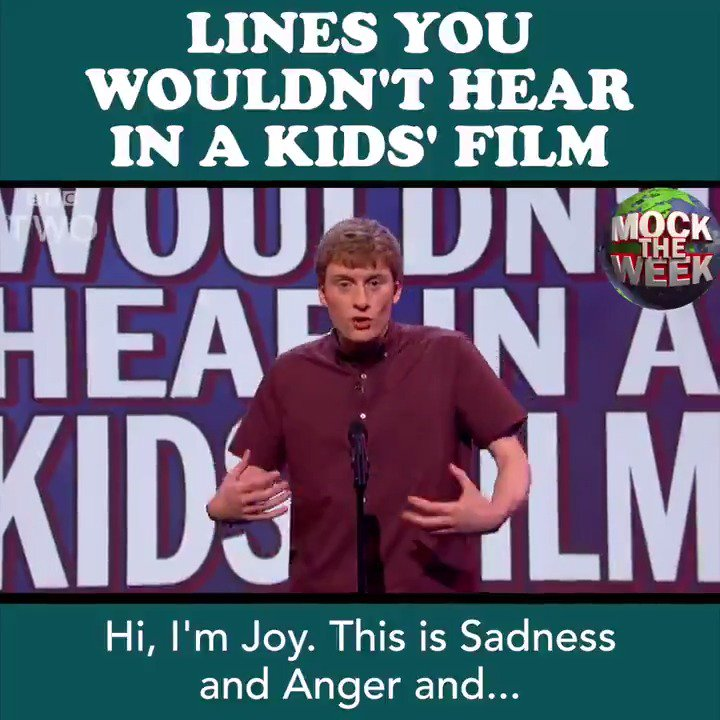 CAUTION: May ruin your favourite kids film... 😳 @MockTheWeek https://t.co/WXq7414CoQ
