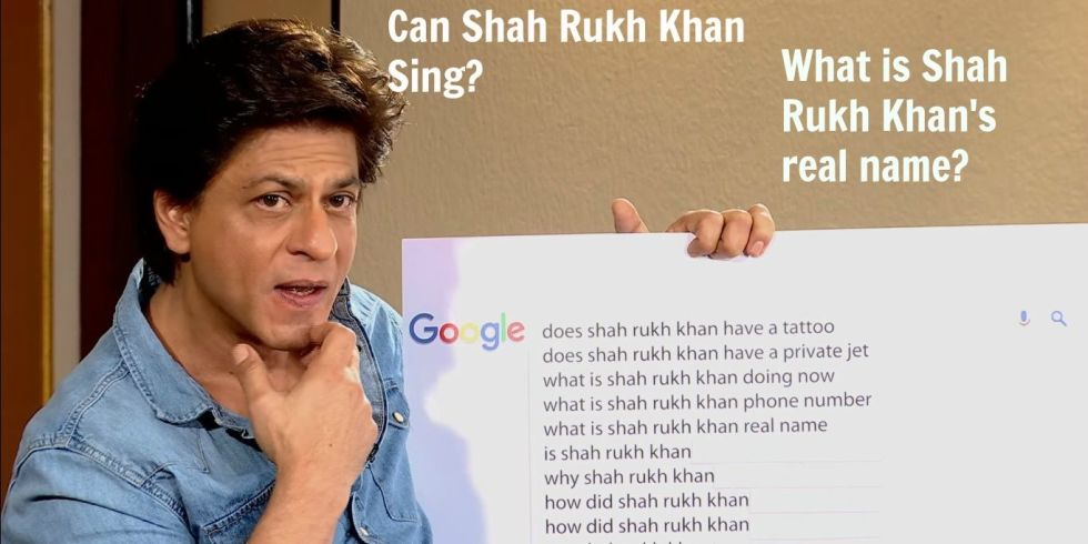 Shah Rukh Khan Answered the Most Googled Questions About Him https://t.co/AcLAi20rzz