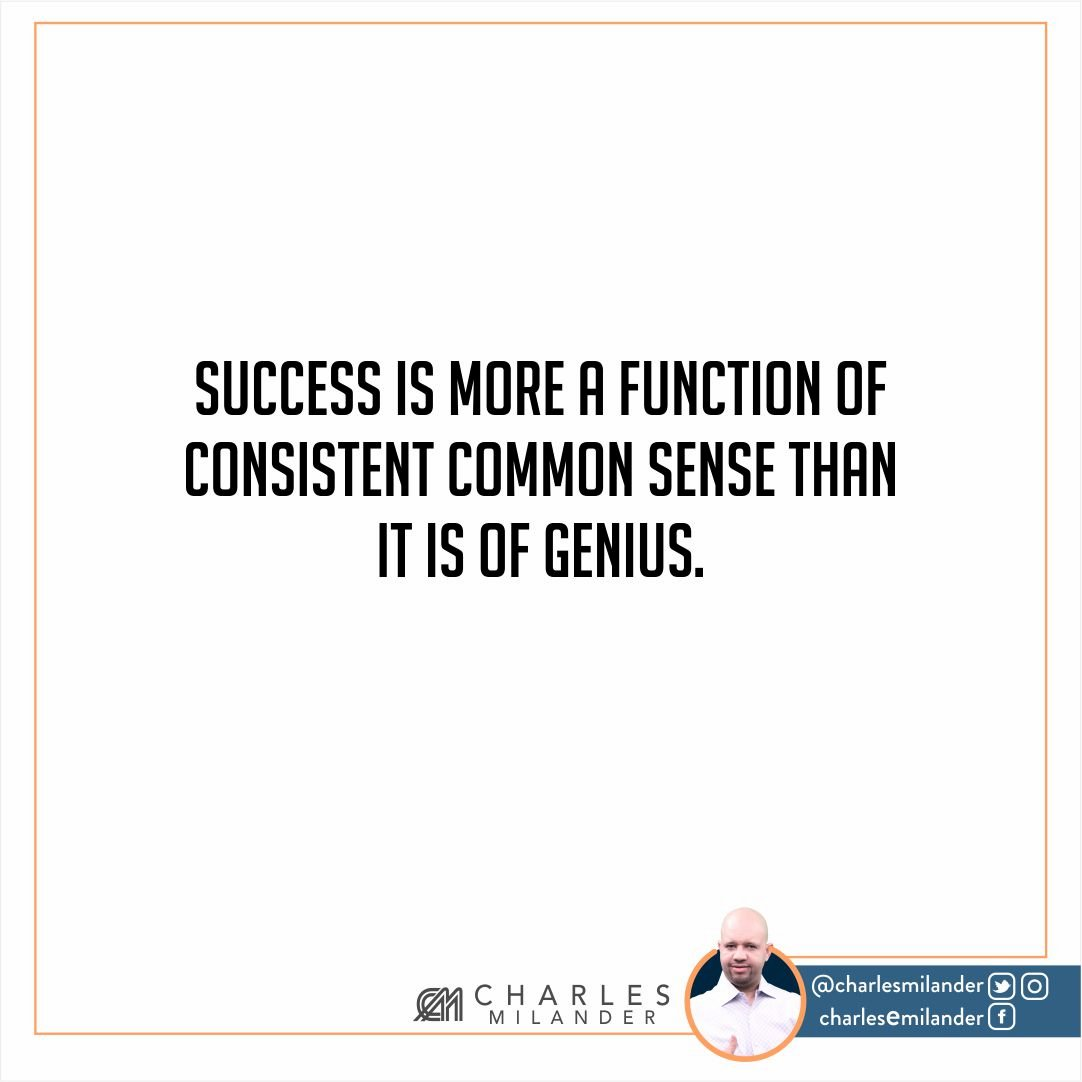 Success is more a function of consistent common sense than it is of genius. #working #founder #startup #money #magazine #moneymaker #start<br>http://pic.twitter.com/LjkEZv7s1u