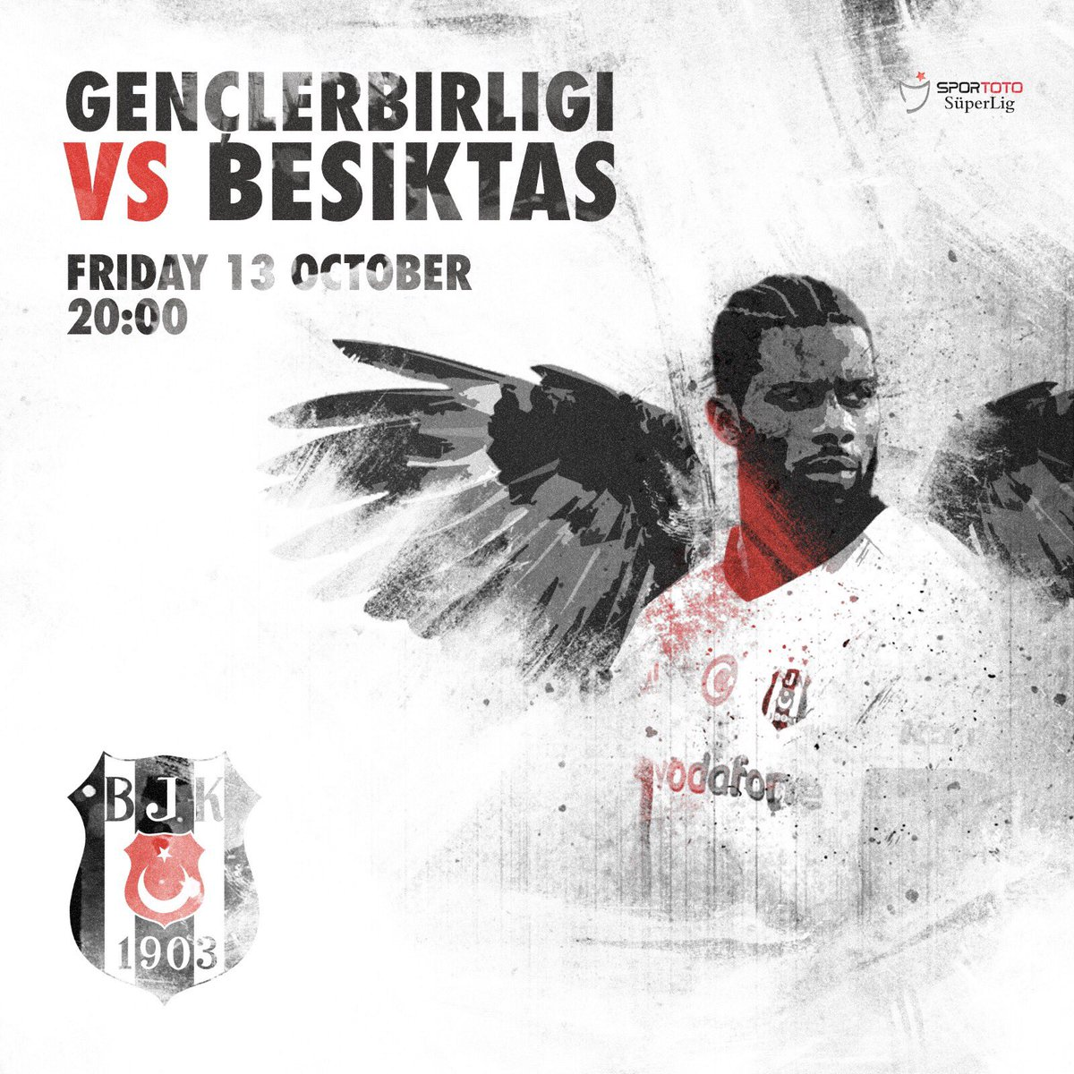 We are 🔙 It's game day! 🦅⚽️ @Besiktas #J...