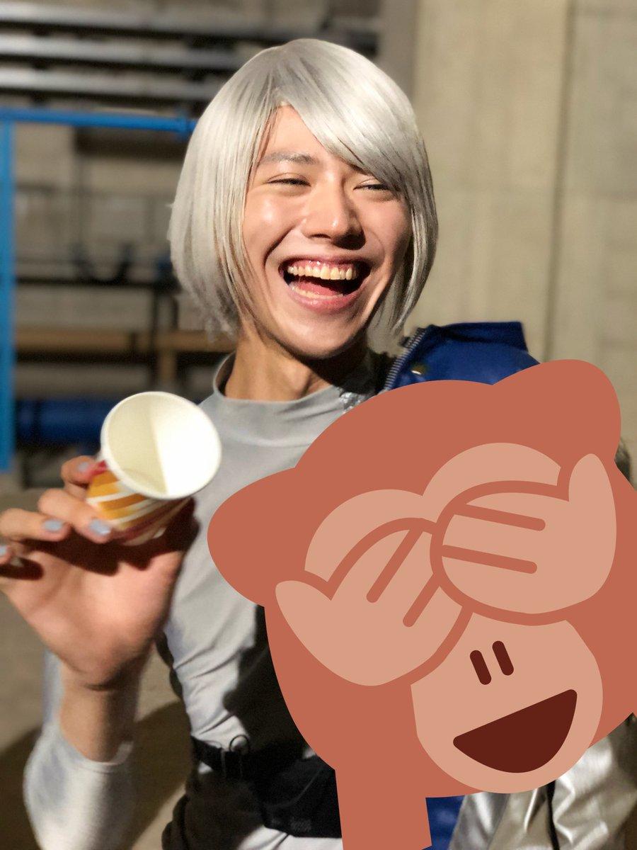 山崎大輝  可愛いSHOT😭🙏  たいちゃん可愛いよ…  いい顔撮れたわあ。  山崎大輝もといナーガ…