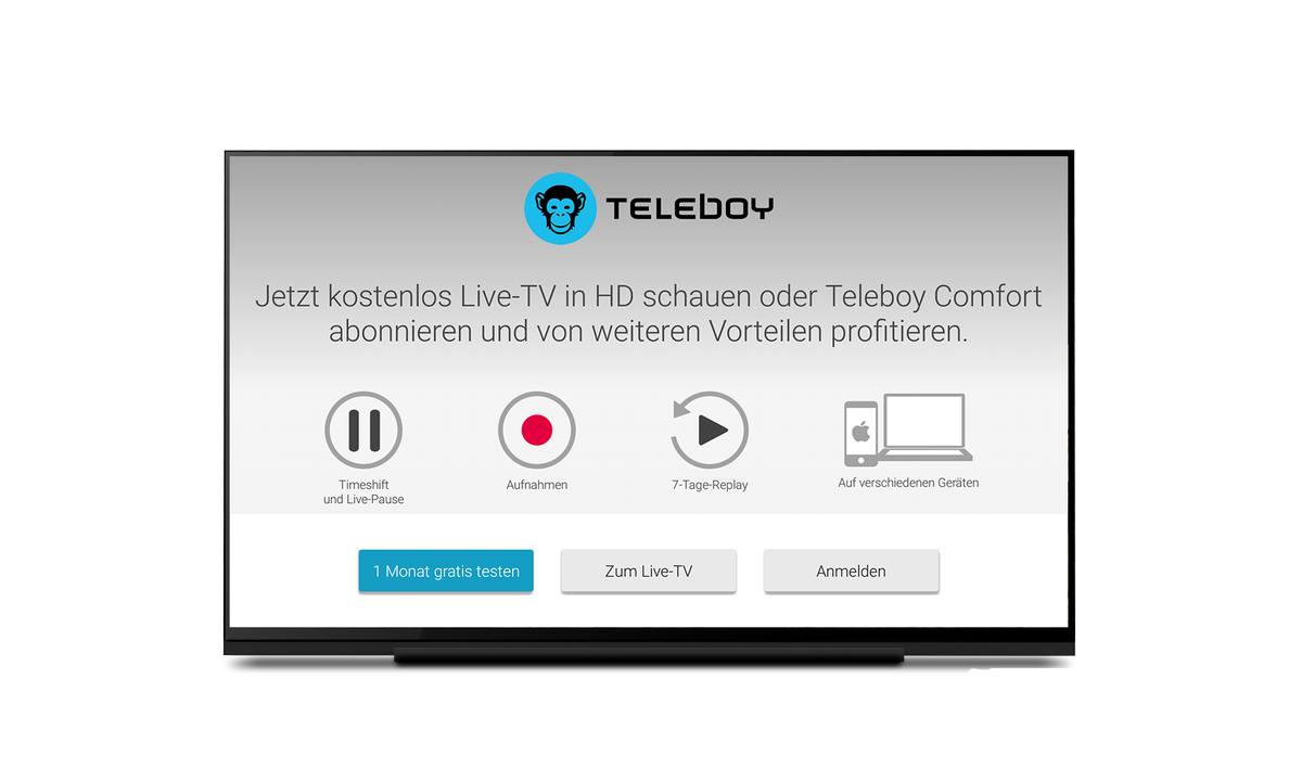 Teleboy comfort testen