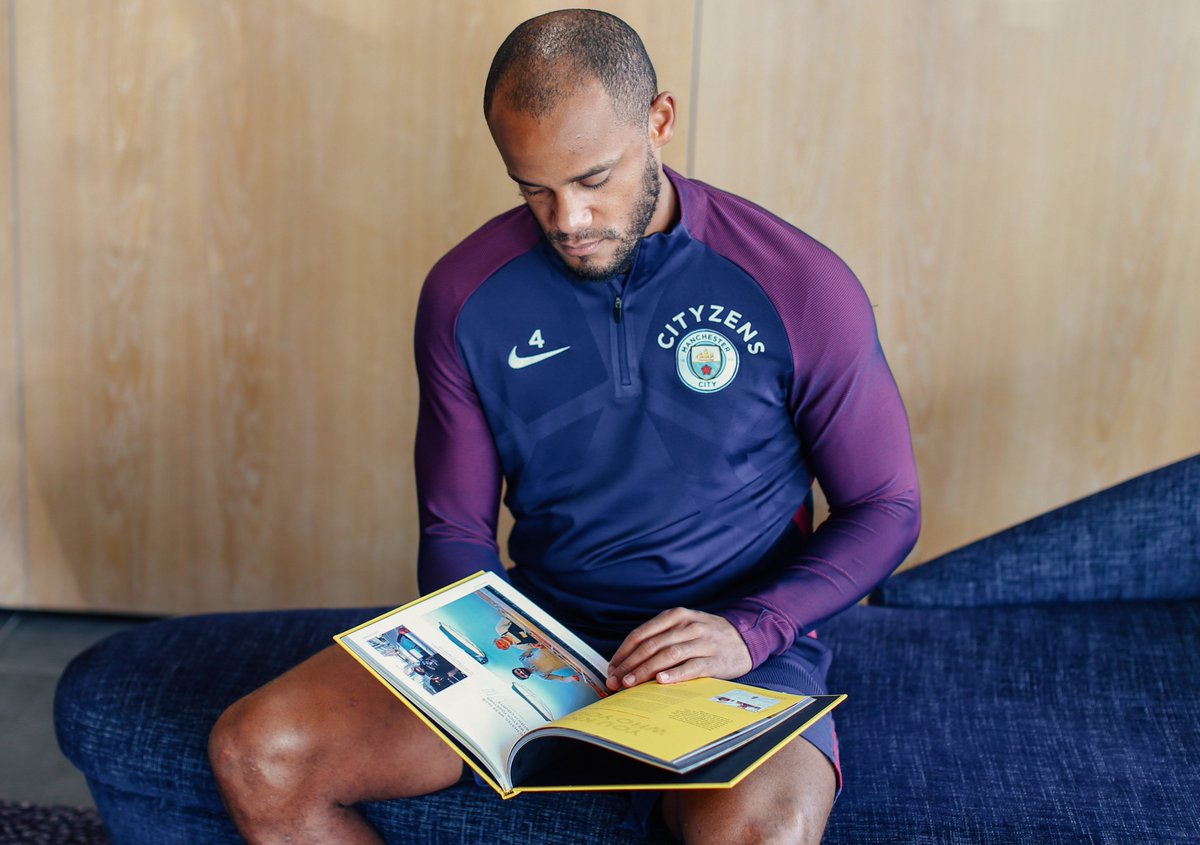 A fantastic book from a city united. @ManCity is proud to support @thisplacemcr #thisistheplace #chooselove