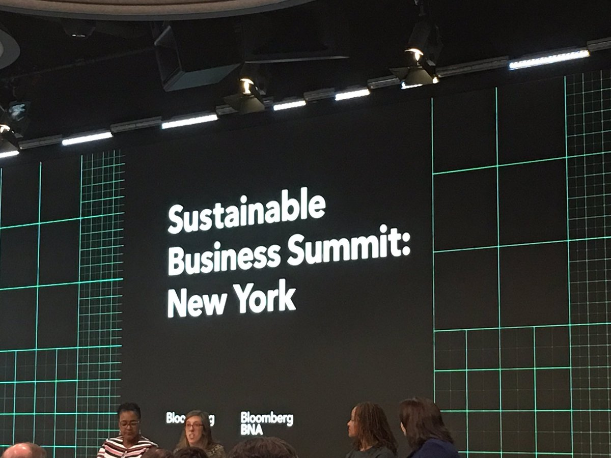@BloombergBNA  loving these all these female business leaders on your panels. #GenderParity here at #SustainableBiz17 <br>http://pic.twitter.com/bqrZ9A17YI