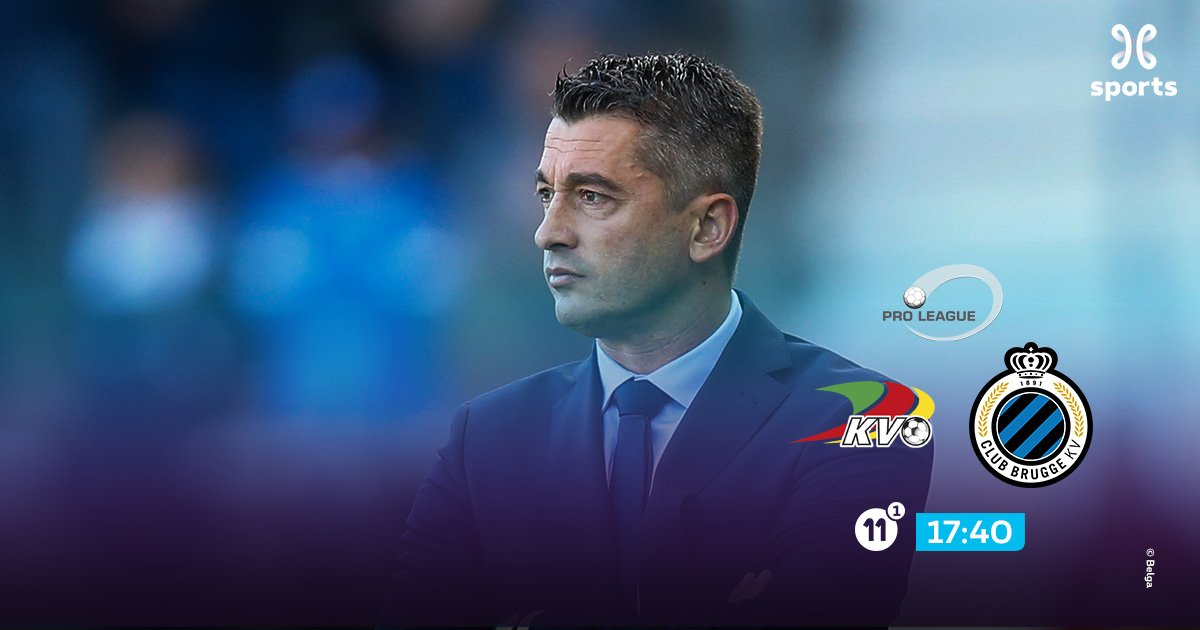 Can Custovic convice as coach of @kvoostende versus @ClubBrugge ? #pxs11 #YouNeverWatchAlone #kvoclu<br>http://pic.twitter.com/OLzMvK8Ns3