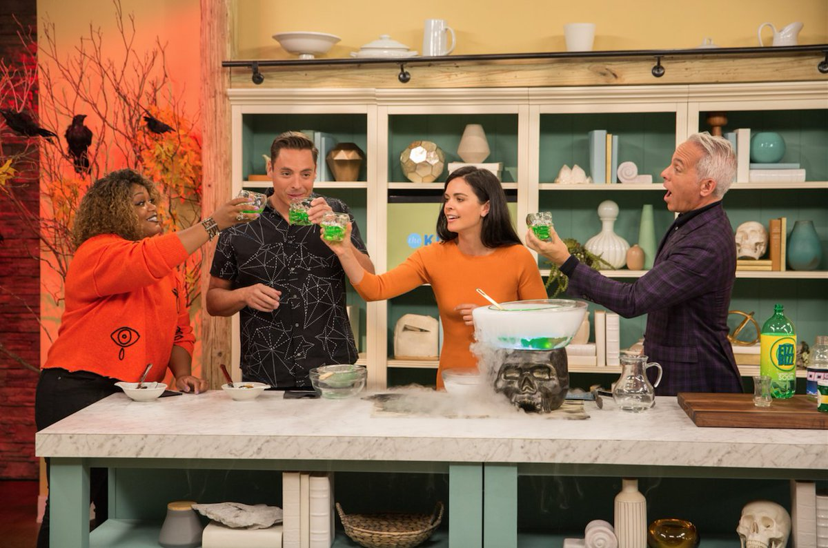 Bstv Entertainment On Twitter The Kitchen Is Serving Up Tricks And Even Better Treats For In A Show Of Ysurprises Today At 11 Am Est