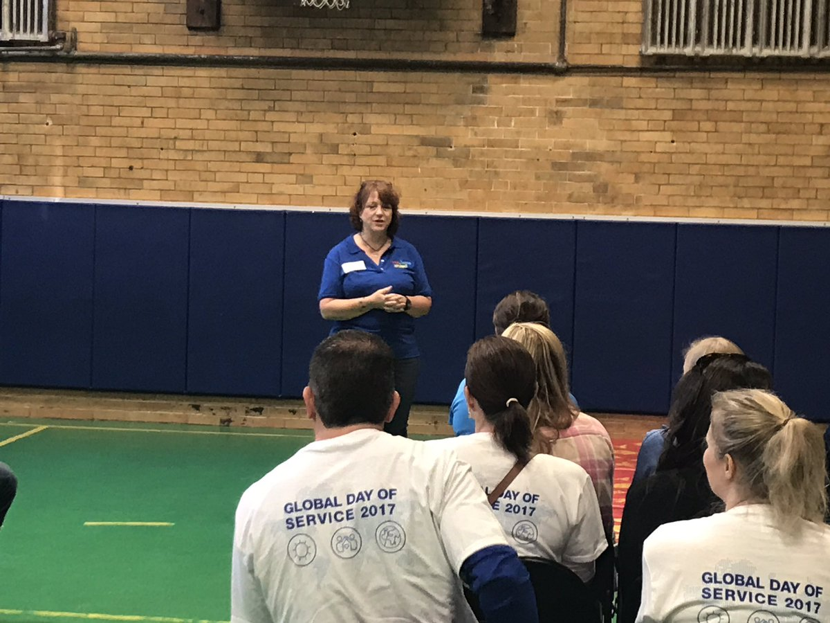 test Twitter Media - RT @MyersJenne: @1hopeunited hosting Shire Volunteers today as part of their global day of service. https://t.co/t8QXFkhv0r