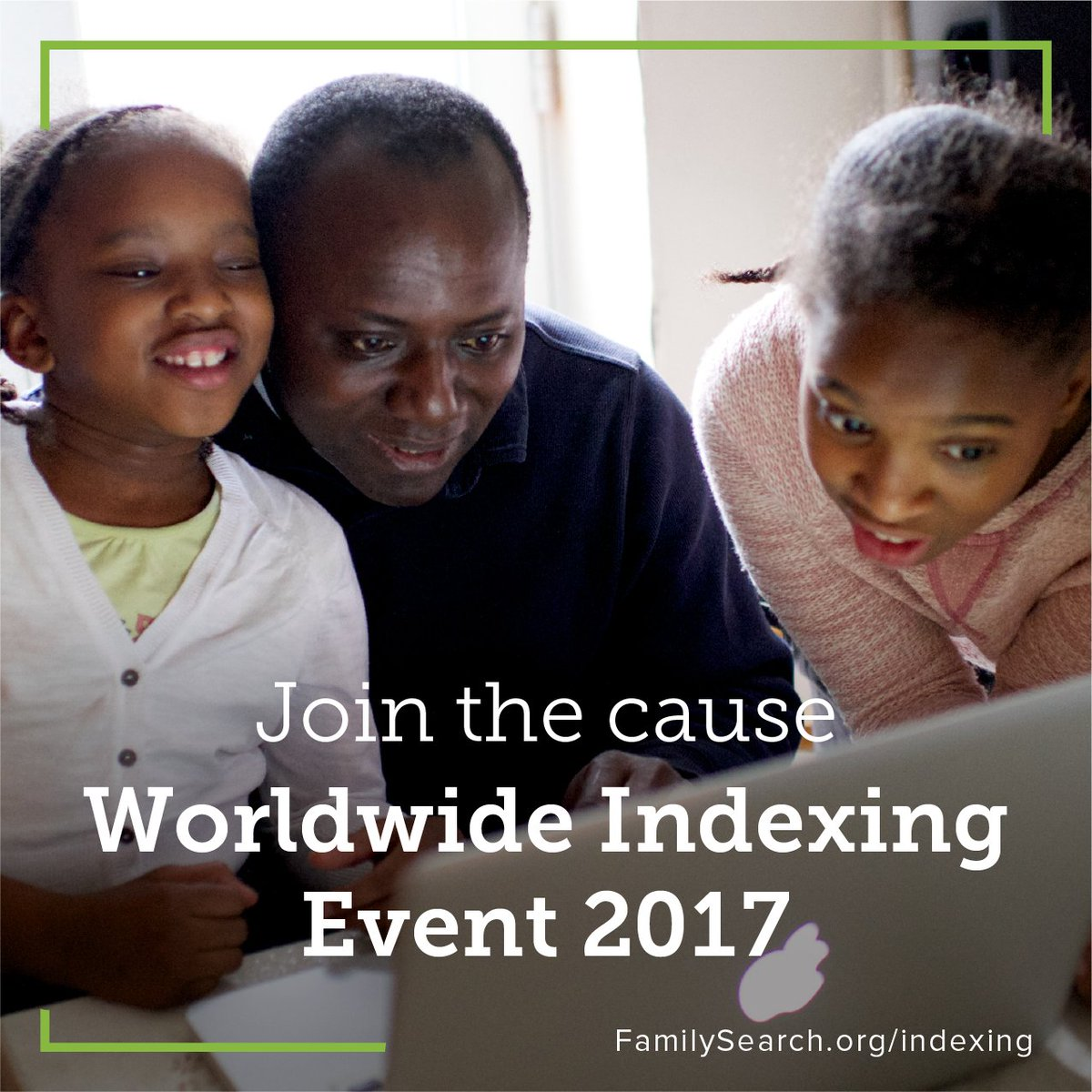 #Indexing is essential! Join the upcoming Worldwide Indexing Event and contribute to #familysearchindexing.  http:// bit.ly/2ywJqxg  &nbsp;  <br>http://pic.twitter.com/Ja9xMdLmPb